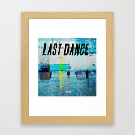 Big Bang Last Dance Framed Art Print