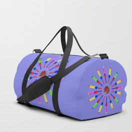 Sport Of Cricket Design version 2 Duffle Bag