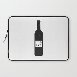 NOTHING #4 - Bottoms Up Laptop Sleeve
