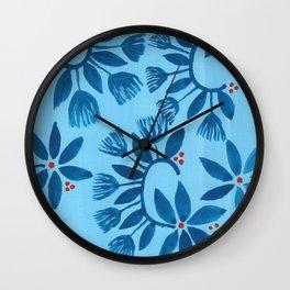 Jam Flower Wall Clock