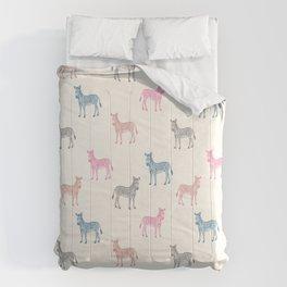 Zebra Play Comforters