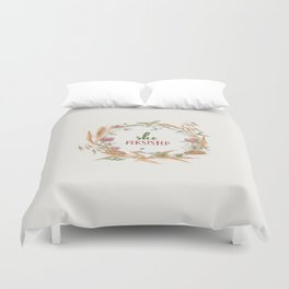 She Persisted Duvet Cover