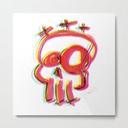 Skull Hill Metal Print