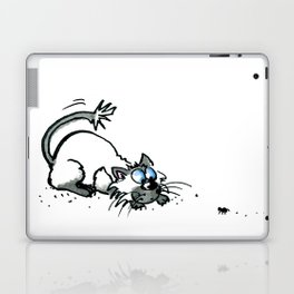 Scaredy Cat Laptop & iPad Skin