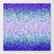 Glitter Graphic Background G105 Canvas Print