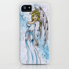 Once an angel  iPhone Case