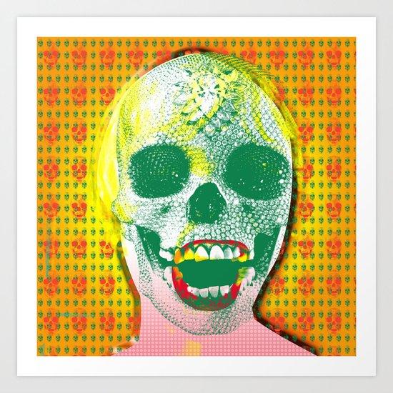 The Scream #8 Art Print