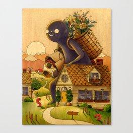 Heading Home Canvas Print
