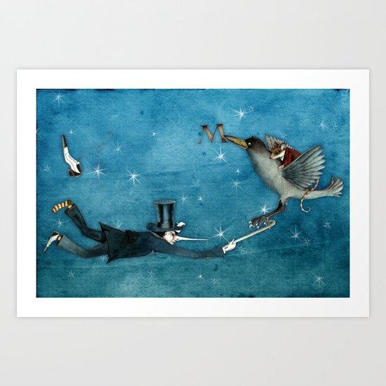 dream - the escape Art Print