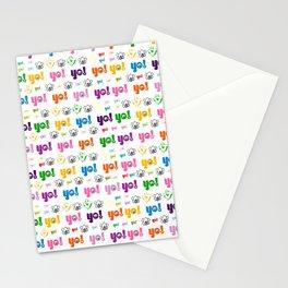 A symetric yo pattern 0.2 Stationery Cards
