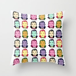 The Drac Pack  Throw Pillow