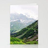 switzerland Stationery Cards featuring Switzerland by Tana Helene