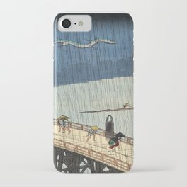 No face and Haku woodblock mashup iPhone Case