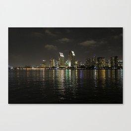 San Diego Lights  Canvas Print