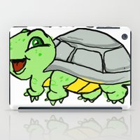 childish gambino iPad Cases featuring childish turtle  by Martin