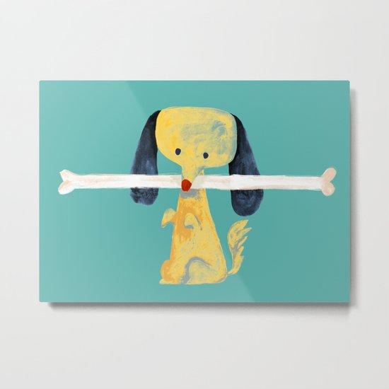 Lucky dog Metal Print
