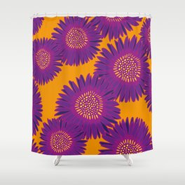 Gerberas Shower Curtain