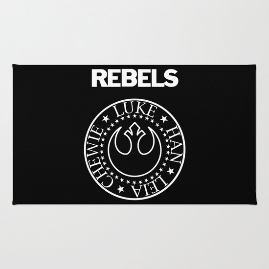 I Wanna Be a Rebel Rug
