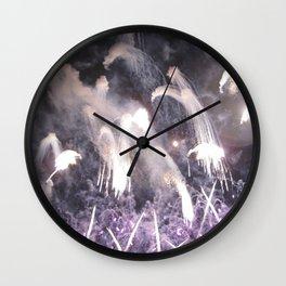 Fireworks no.2 Wall Clock