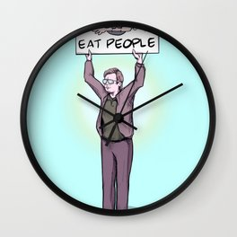 Activist Jeffrey Wall Clock