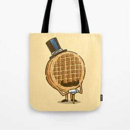 The Fancy Waffle Tote Bag