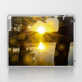 Sunset Flare Laptop & iPad Skin