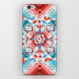 Rococo Lovebirds iPhone Skin