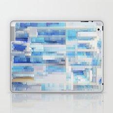 Abstract blue pattern 2 Laptop & iPad Skin