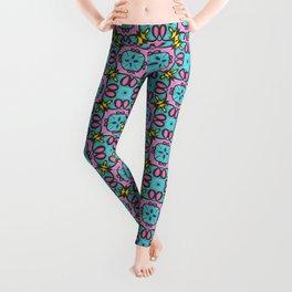 Elegant Highlighter Pattern 2 Leggings