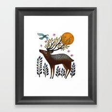 Design by Nature Framed Art Print