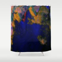 storm Shower Curtains featuring Storm by The Rogue Iris