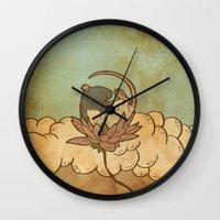 tarot Wall Clocks featuring Muroidea Rat Tarot- Death by Midio