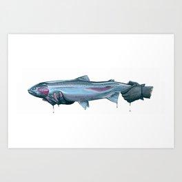 Salmon River Steelhead Art Print