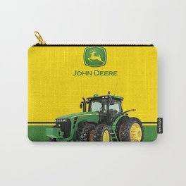 John Deere Green Tractor Carry-All Pouch