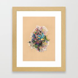 Underneath The Day Framed Art Print
