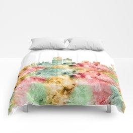 Albuquerque Skyline Comforters