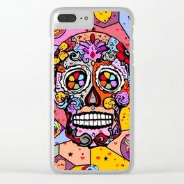 Los muertos Popart by Nico Bielow Clear iPhone Case