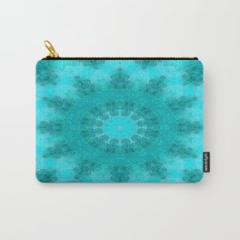 Blue bay abstract Carry-All Pouch
