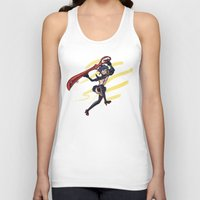 kill la kill Tank Tops featuring Kill la Kill: Ryuko Matoi by meganbarker
