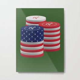 Declinists Be Damned: Bet on America  Metal Print
