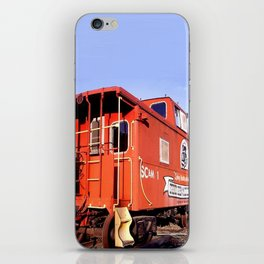 Lil Red Caboose -Wellsboro Ave Hurley ArtRave iPhone Skin