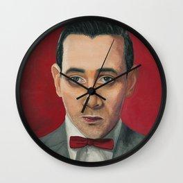 Pee-Wee Herman, A portrait Wall Clock