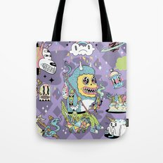 We Came to Explore Tote Bag