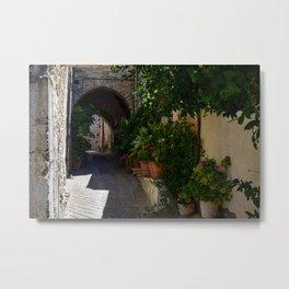 Quiet Backstreets (Lefkara, Cyprus) Metal Print