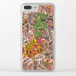 Don't leave me Clear iPhone Case