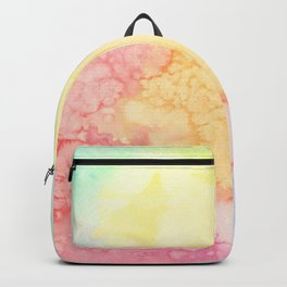 Rainbow Clouds Watercolor Backpack