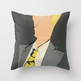 Barney Stinson Fanart Throw Pillow