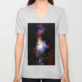 Orion NebulA Colorful Full Image Unisex V-Neck