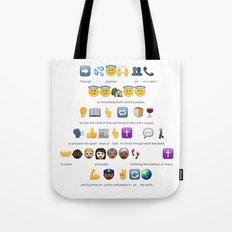 Emoji Baptism Tote Bag