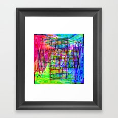 Visually speaking, it's an acknowledgment of lack. [RGB] Framed Art Print